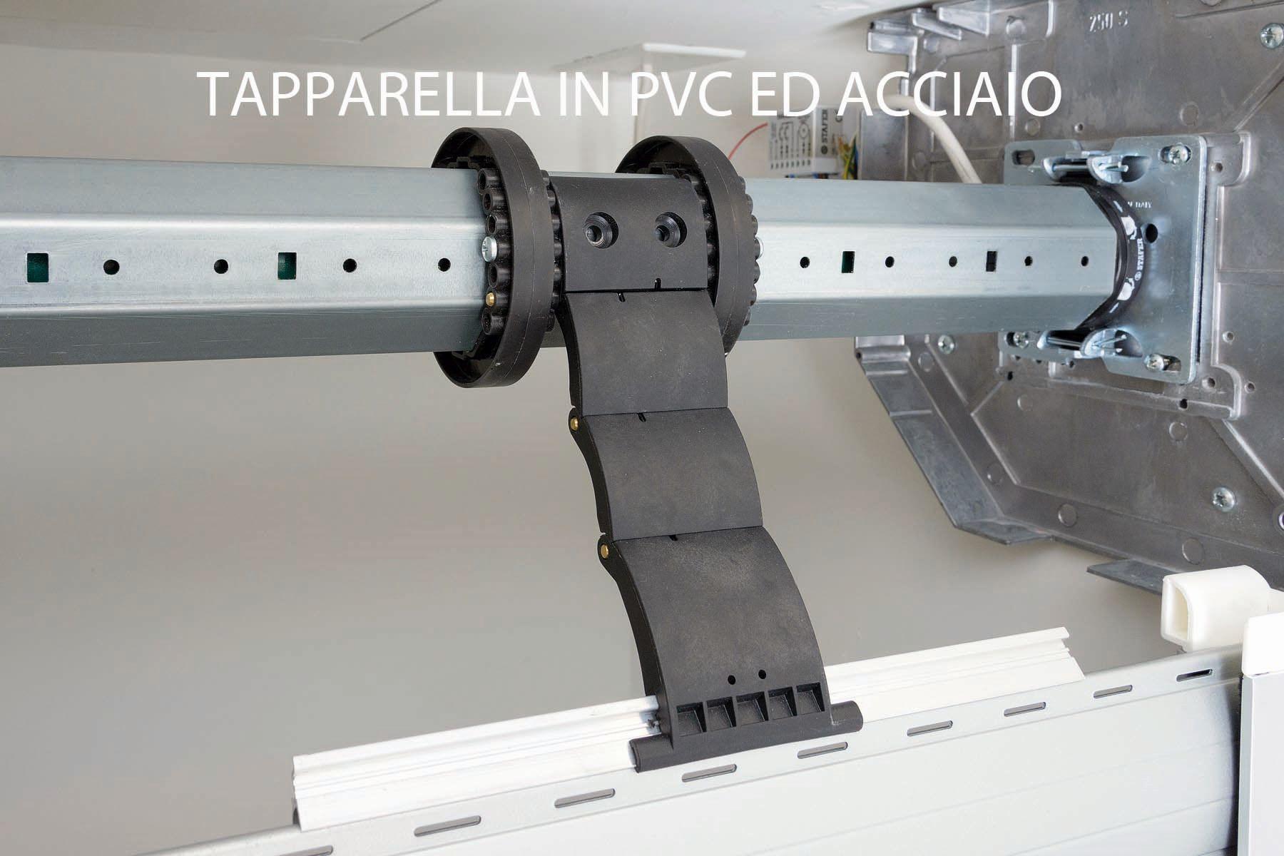Tapparelle pvc alluminio e acciaio in legno nuova for Blocchi per tapparelle